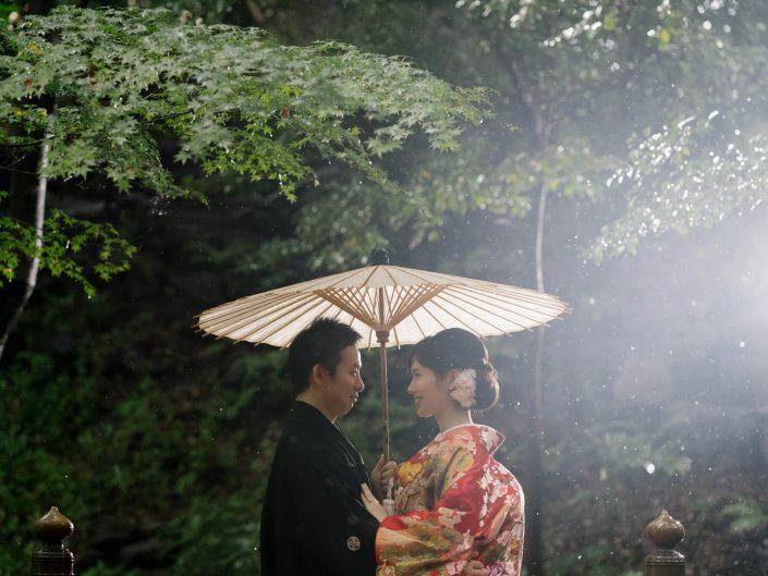 【PRE-WEDDING】 – 雨なら雨の写真を –
