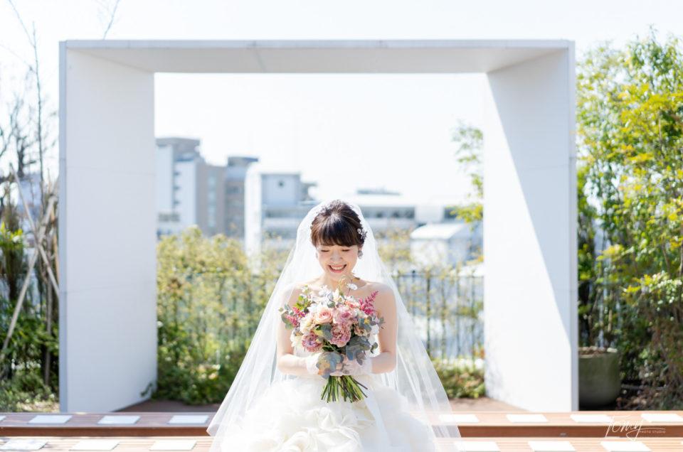 結婚式当日撮影 -恵比寿/メゾンプルミエール-