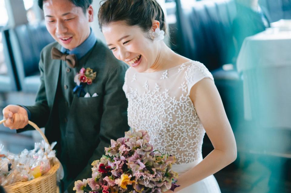 結婚式当日撮影 – 青山/葉山庵 –